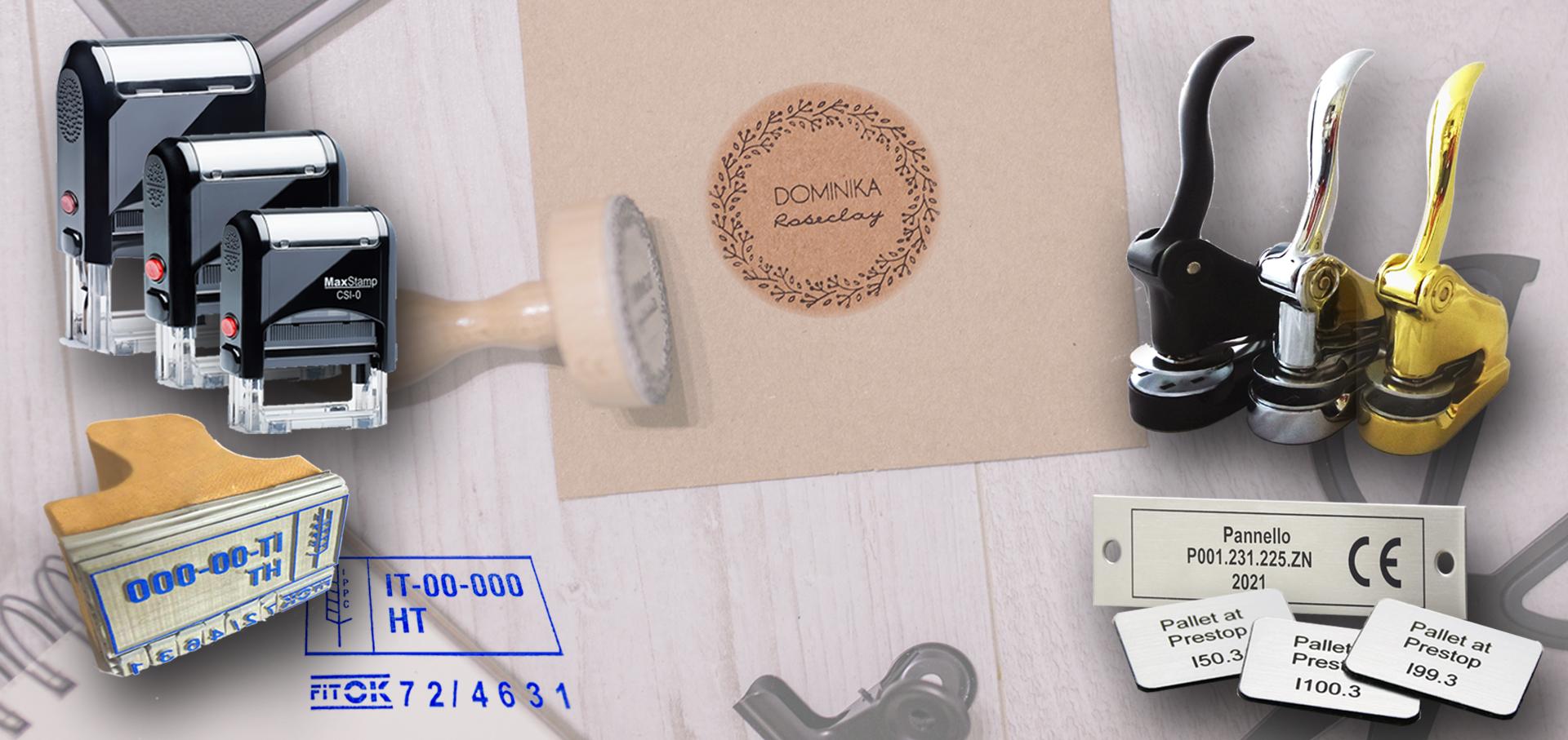 timbri e macchine per timbrifici