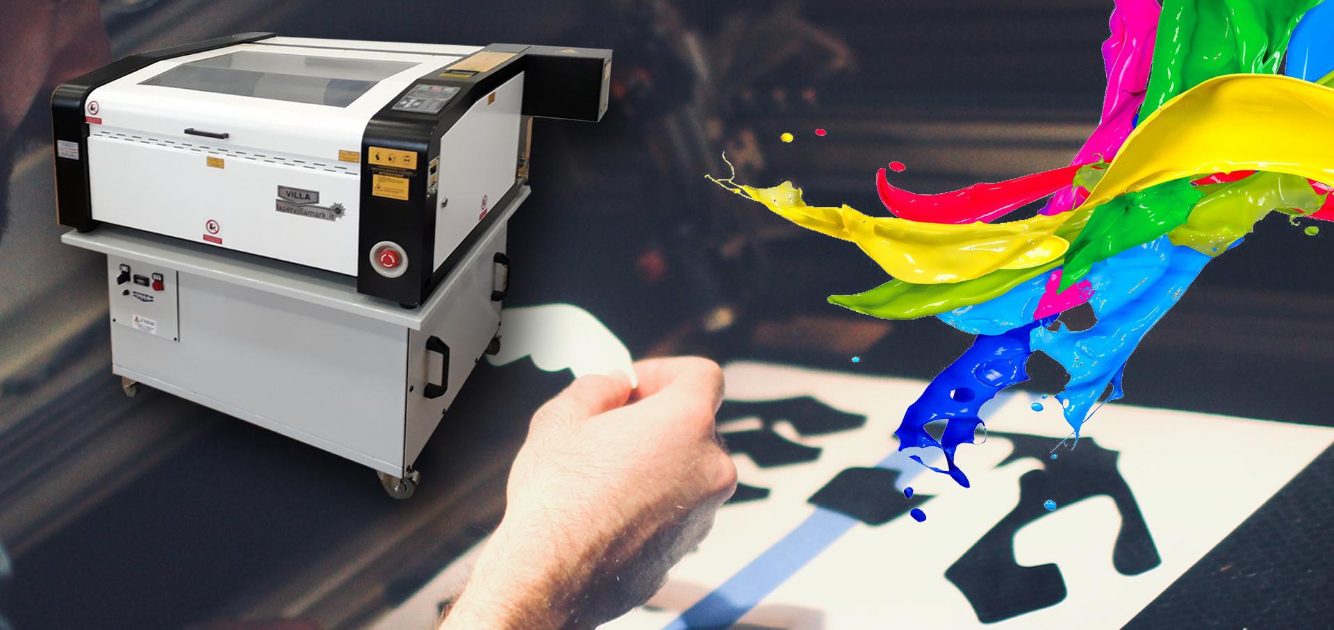 macchine laser per incisioni