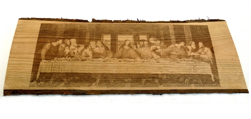 Marcatura per legno: esempi di lavorazioni laser e codifiche CE_1