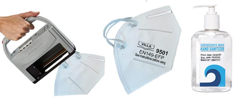 Marcatura di mascherine e dispositivi di protezione: soluzioni per la codifica_1
