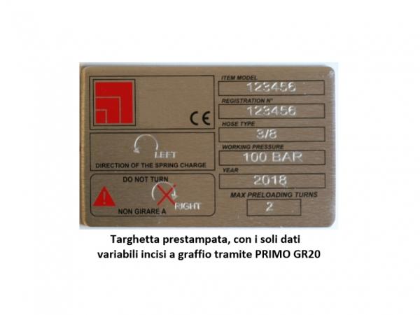 Marcatore Economico a Graffio PRIMO GR20_3