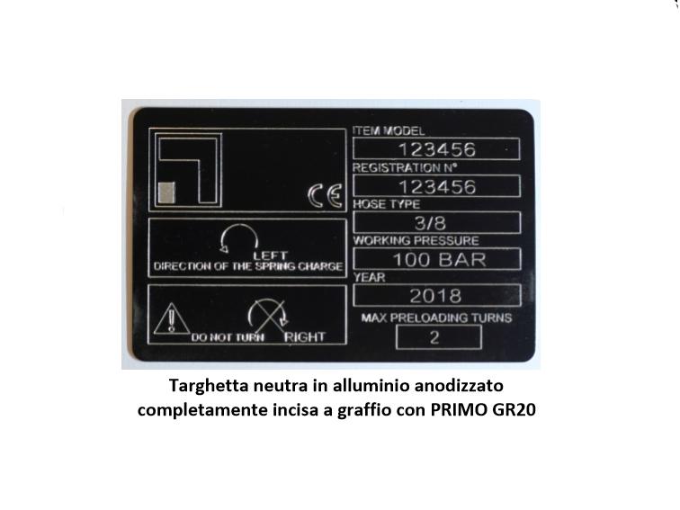 Marcatore Economico a Graffio PRIMO GR20_2