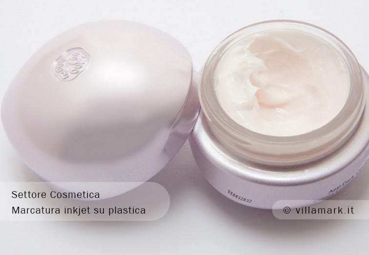 Marcatura per cosmetici: esempi di codifica per astucci, flaconi, makeup_1